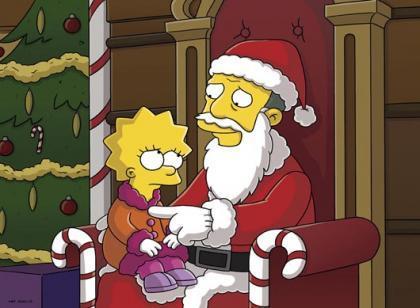 Especial de Los Simpson en nochebuena