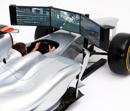 Simulador Formula 1 tamaño real