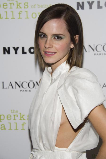 Emma Watson hace gala de juventud con un Brood