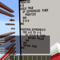 Minecraft no solo te deja construir, también programar en BASIC