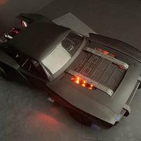¡Filtrado! El coche de Batman queda al descubierto en estos renders: una montura más sobria y con aire a muscle car