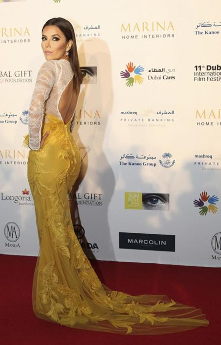 Eva Longoria Global Gift Gala Dubai Ali Younes