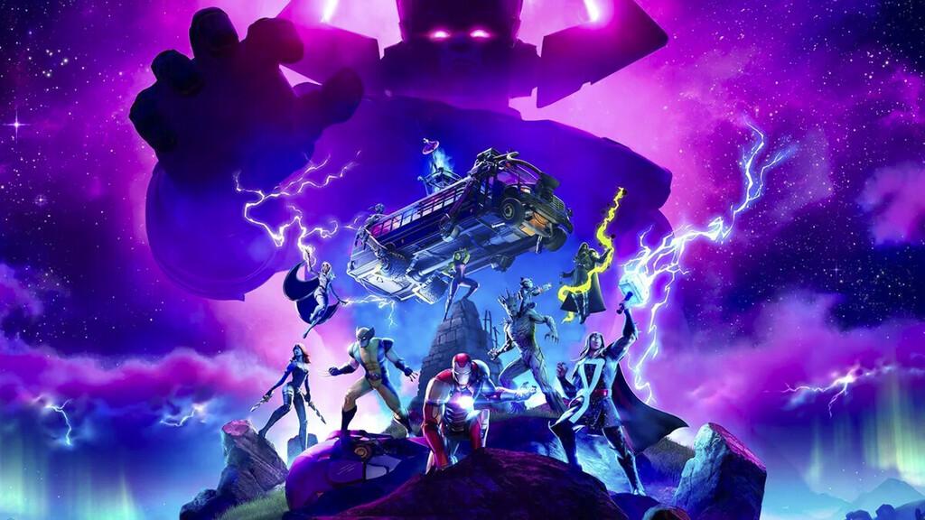 Fortnite y Galactus baten otro récord con más de 15 millones de jugadores concurrentes durante su evento especial