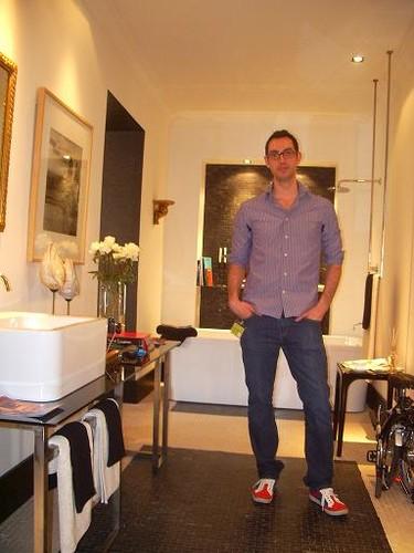 Casa Decor Madrid 2009.  El baño principal de Benjamín Argudo