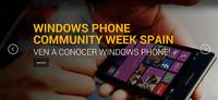 Windows Phone Week Spain, evento de desarrollo en movilidad