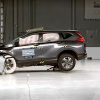 Honda CR-V 2017 logró el Top Safety Pick+ en cuestión de seguridad