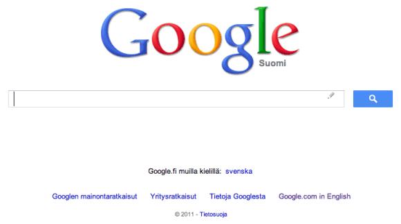 Google página principal