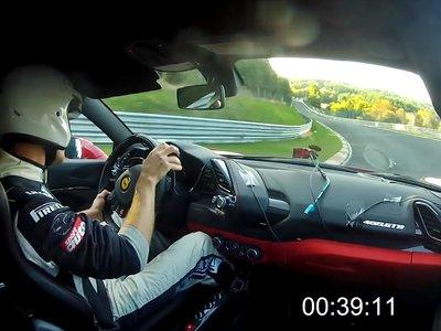 Planes para una tarde de domingo: gozarlo fuerte viendo los 7:21.63 del Ferrari 488 GTB en Nürburgring