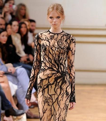 Zuhair Murad, buscando el efecto tatoo en la Paris Fashion Week Haute Couture