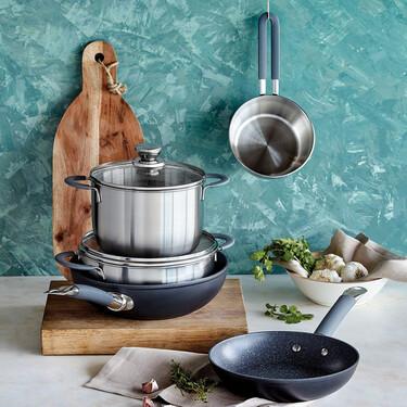 Equipa tu cocina con las ofertas de El Corte Inglés: hasta un 50% de descuento en sartenes, ollas, cazos y más