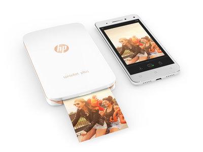 La nueva HP Sprocket Plus aumenta de tamaño, ahora las fotografías son un 30% mayores