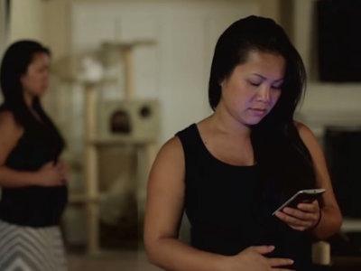 Cuando el anuncio de embarazo se convierte en el tráiler de una película de terror