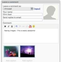 JS-Kit permite imágenes en los comentarios