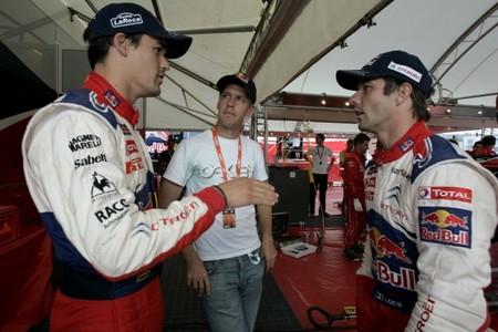 Sebastian Vettel también se muestra interesado en los rallyes