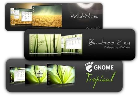 Temas de zgegblog para GNOME y Ubuntu
