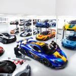 Un vistazo al taller de los McLaren P1 GTR