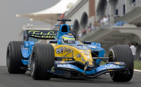 Renault R25 - Giancarlo Fisichella