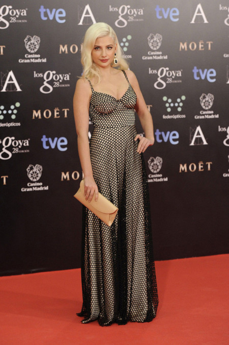 Miriam Giovanelli peor vestidas Goya 2014