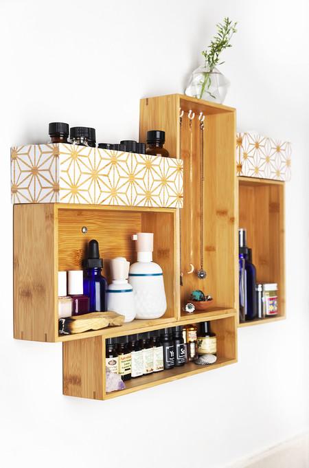 Hazlo tú mismo: cómo crear una estantería con viejos cajones que ya no sirven de manera sencilla y muy atractiva