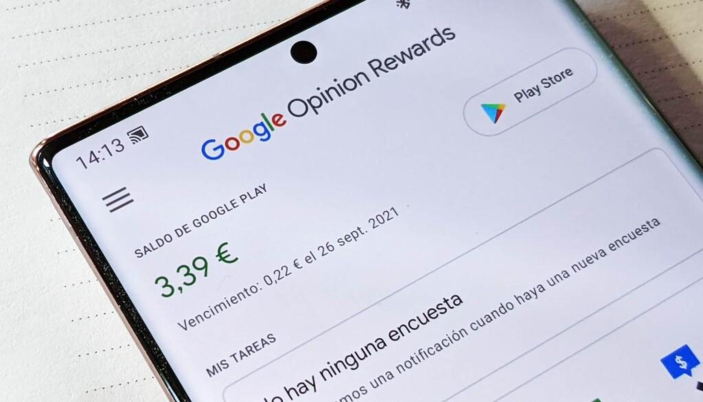 Cómo recibir saldo gratis para desembolsar apps y servicios de Google® con Opinion Rewards