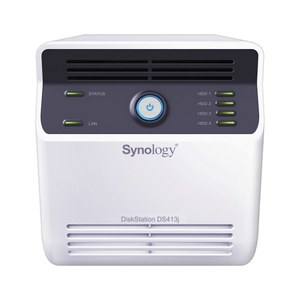 Synology DS413j, almacenamiento NAS para usuarios exigentes