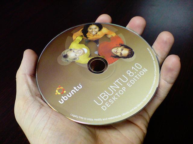 CD de Ubuntu