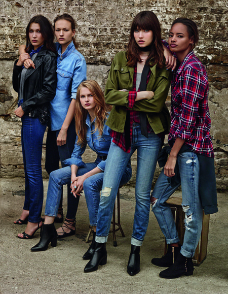 Topshop Denim Campana Top Models 2016 2
