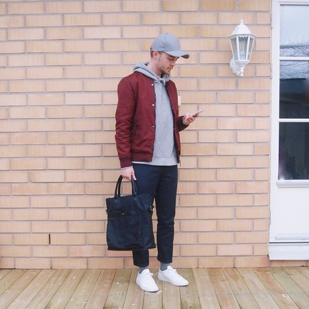 Burgundy Trends Mens Bloguers Fashion 3