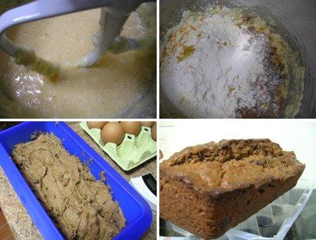 Elaboración del cake de chocolate