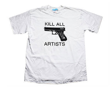 Camiseta Kill All Artists