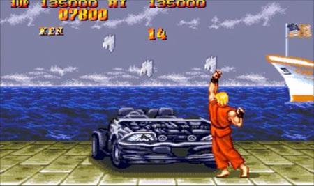 'Super Street Fighter IV' recupera la fases bonus de destrozar coches y barriles