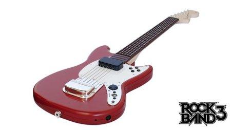Utiliza una guitarra de Rock Band 3 con GarageBand