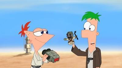 Disney Channel estrena el episodio Phineas y Ferb Star Wars