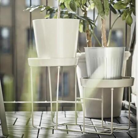 Soporte de macetas Ikea