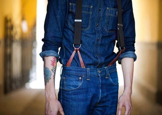 Suspenders Men Style Trend 1