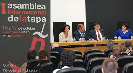 I Asamblea Internacional de la Tapa, para definir a nuestra embajadora culinaria de España en el mundo