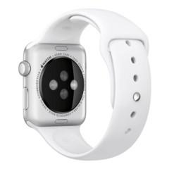 Foto 3 de 3 de la galería apple-watch-sport-aluminio-en-plata-y-correa-deportiva-blanca en Compradicción