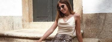13 maneras de lucir la falda con estampado de serpiente y sacarle mucho partido