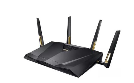Asus presenta en el CES 2018 su nuevo y ultra rápido router gaming: el Asus RT-AX88U