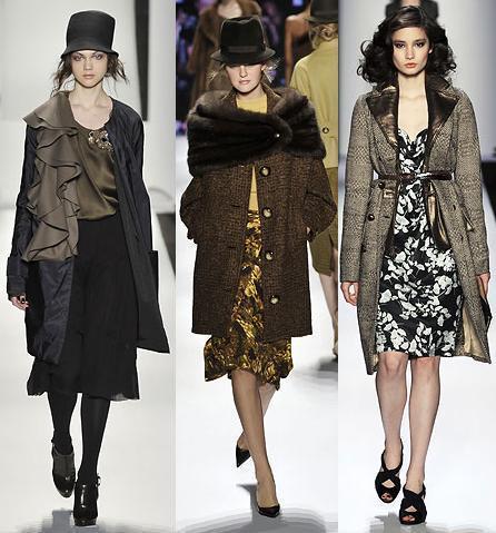 Tendencias de moda otoño-invierno 08/09: estilo años 40