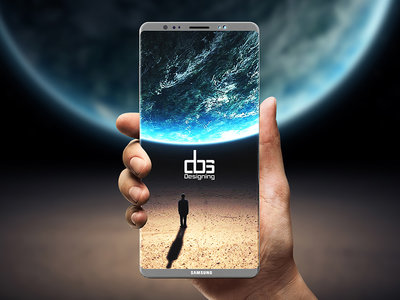 Samsung volverá a colocar el lector de huellas a un lado de la cámara en el Galaxy Note 8 según este render
