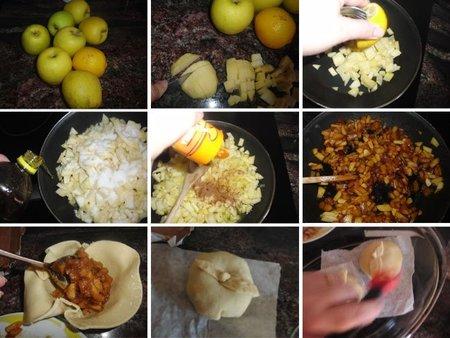 Receta de rellenitos de manzana
