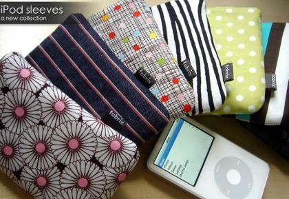 Nueva línea de fundas Fabrix para el iPod