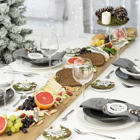 Hazlo t mismo c mo decorar una mesa buffet para navidad - Como decorar una mesa de navidad ...