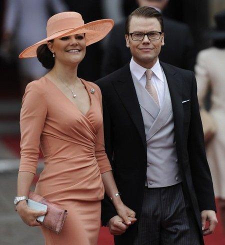 El look de la princesa Victoria de Suecia en la Boda del Príncipe Guillermo y Kate Middleton