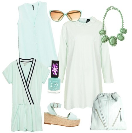 outfits verde mint