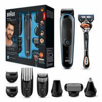 Oferta en el set de afeitado Braun MGK3085 en Amazon: 9 funciones de afeitado y cuidado del vello por 39,99 euros