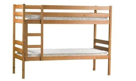 Siena, una litera que se convierte en dos camas gemelas
