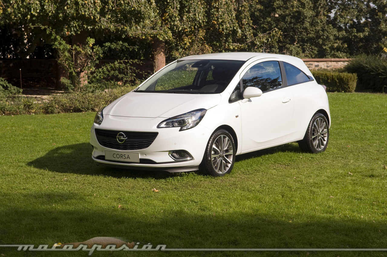 foto de opel corsa 2014 toma de contacto 2 18. Black Bedroom Furniture Sets. Home Design Ideas