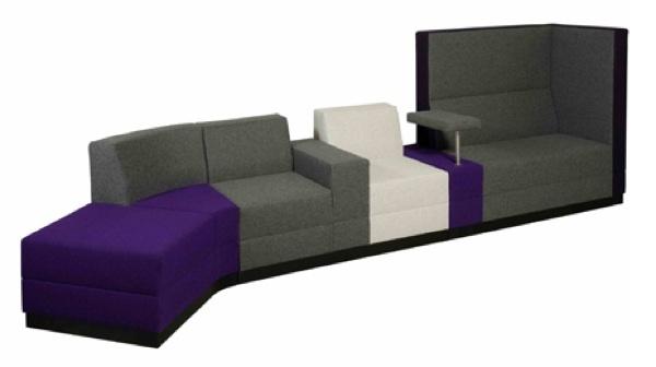 Foto de Una buena idea: sofá con pequeña mesa incluida (1/5)